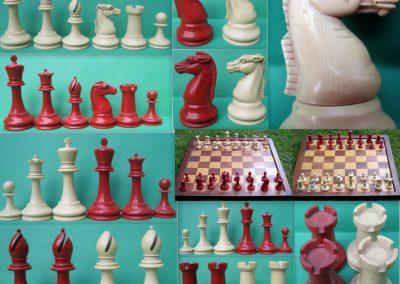 British Chess Company (BCC) Xylonite Imperial chess set