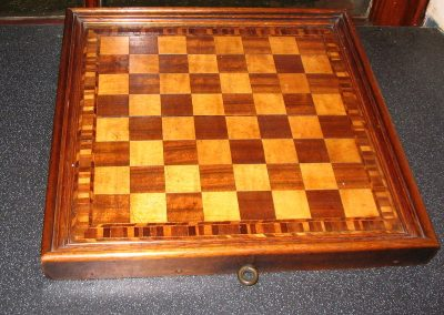 Inlaid chessboard