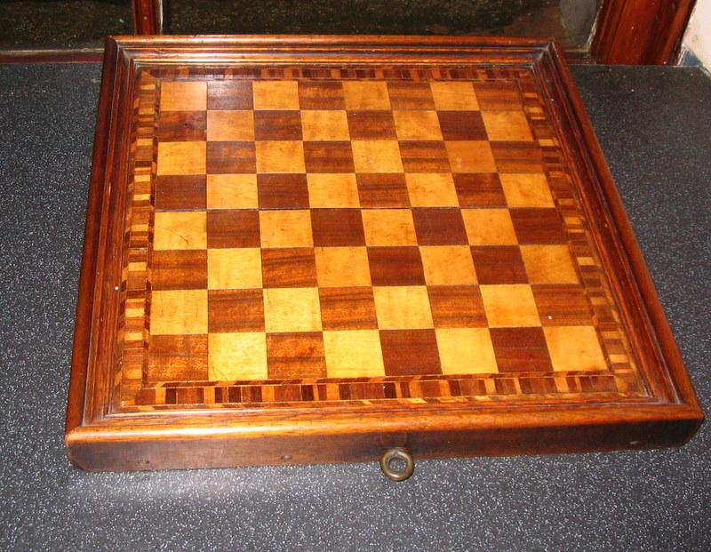 Inlaid chessboard
