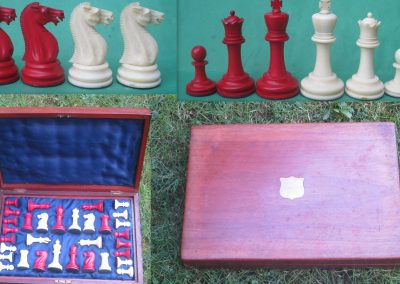 Staunton Whitty ivory chess set later 19th century