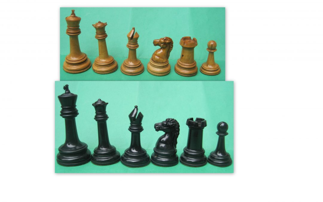 Early BCC Royal Chess Set 1891
