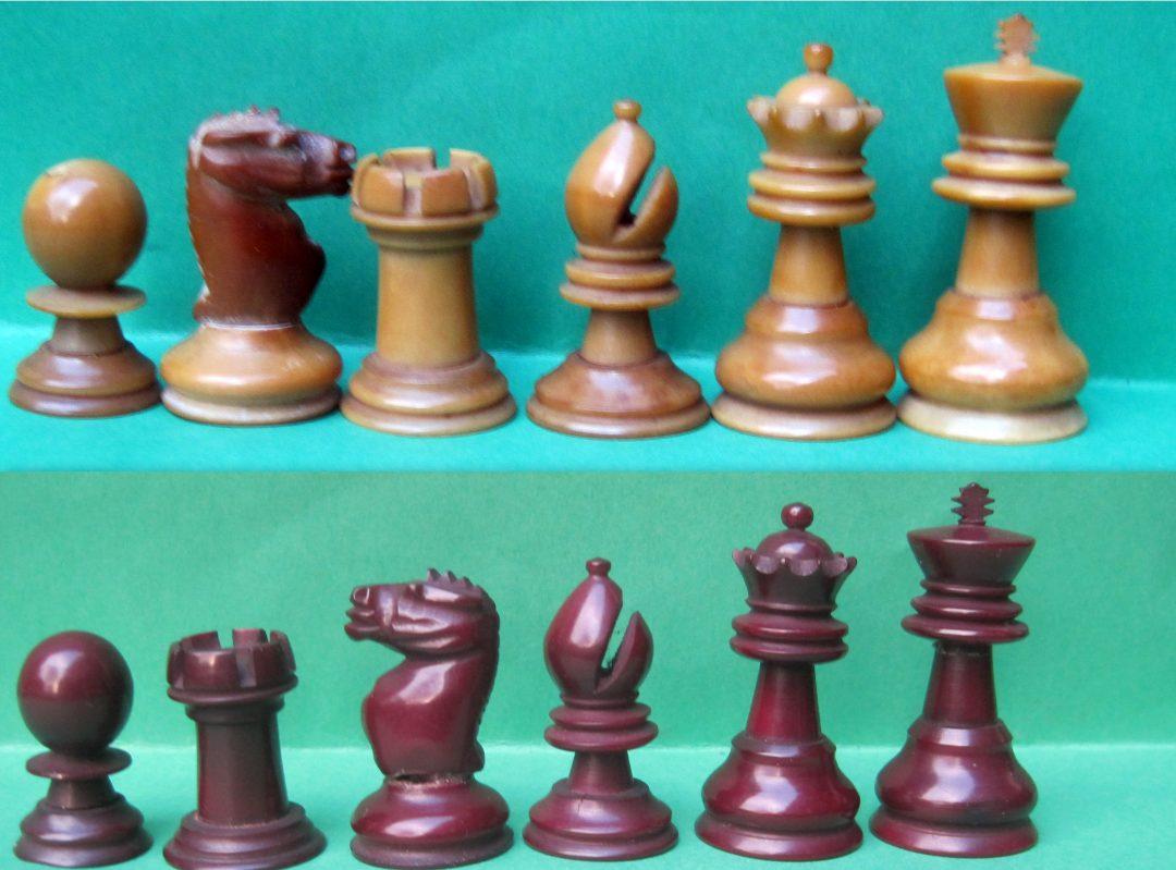 Ayres vegetable ivory chess set