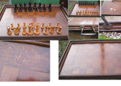 Early 20th century? chess tray