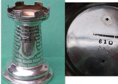 Fattorini silver chess trophy 1924