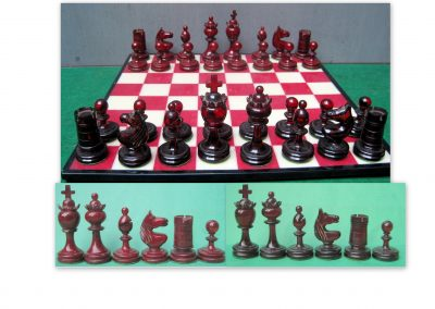 A phelonic resin chess set 1930's?