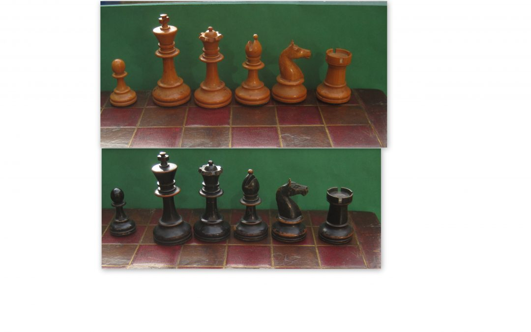 German Staunton chess set – late 19th century