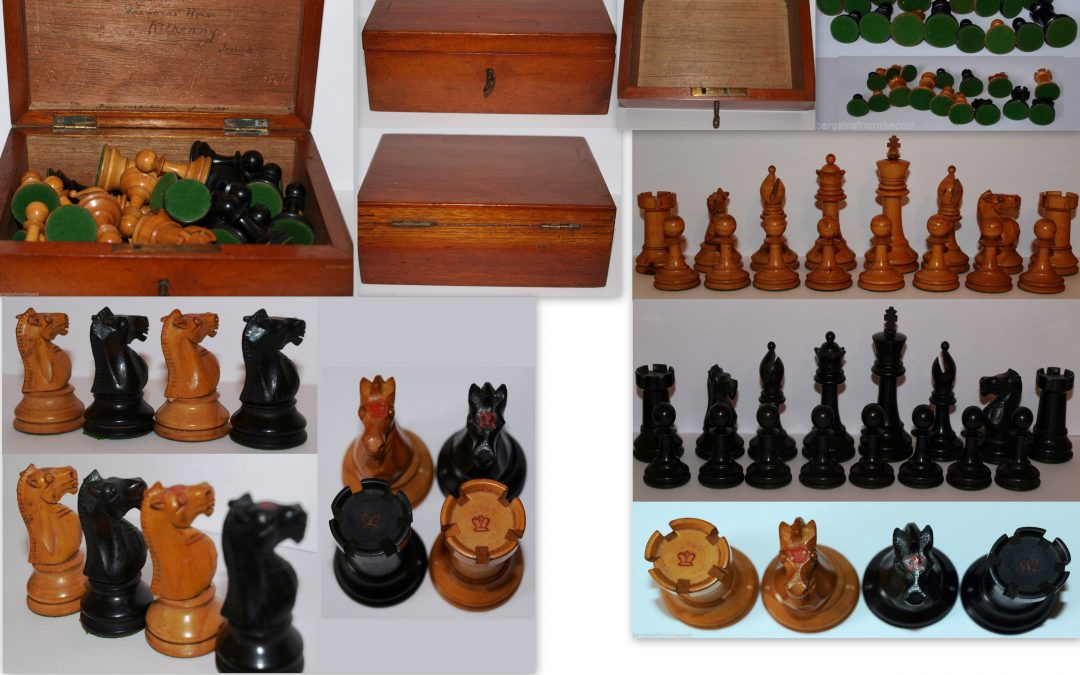 F H Ayres Chessmen