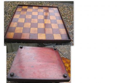 Antique chess board – late 19th century