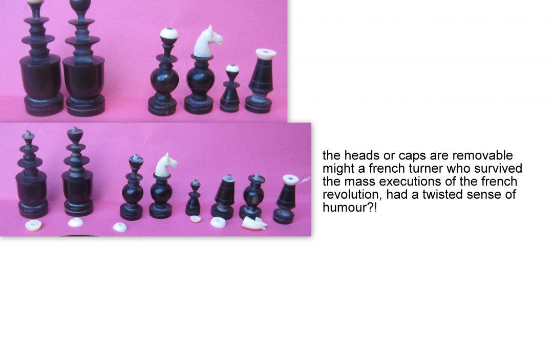 Vietnam Regence horn chess set