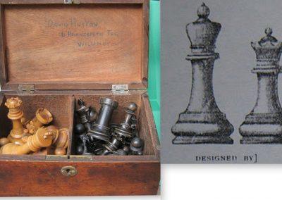 Late19th century Staunton chess set