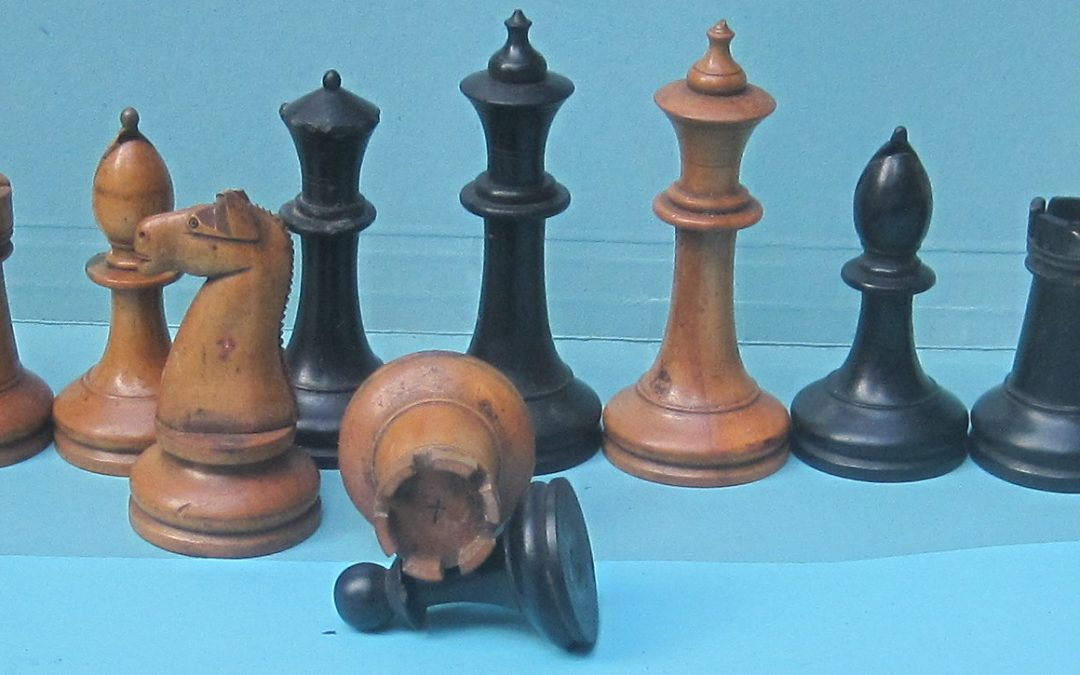 American Chess Company part set