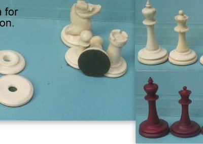 Bone Staunton Chess Set