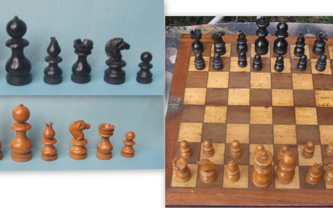 A Dublin chess set