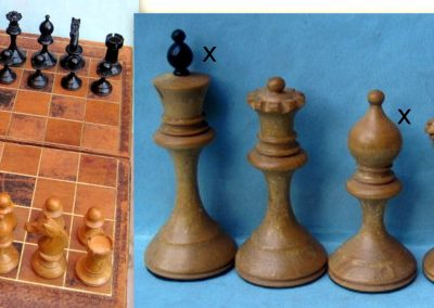 A possible Russian Staunton chess set